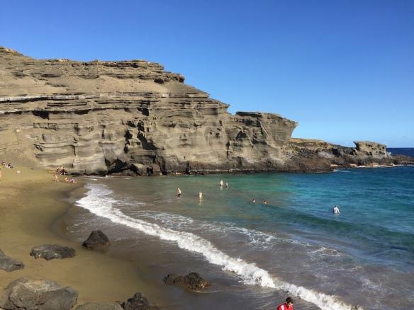 HawaII Green Beach